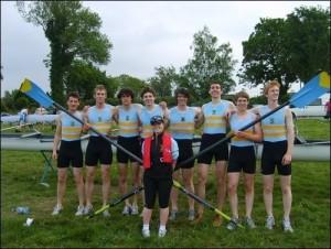 UCD Novice 8+, University Championships 2008