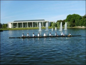 Rowing on Lake
