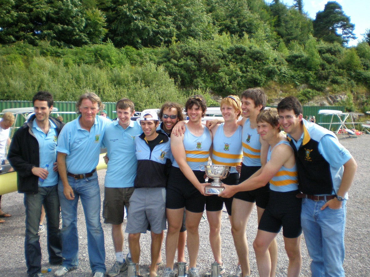 UCD Mens Novice 4+, National Champions 2008