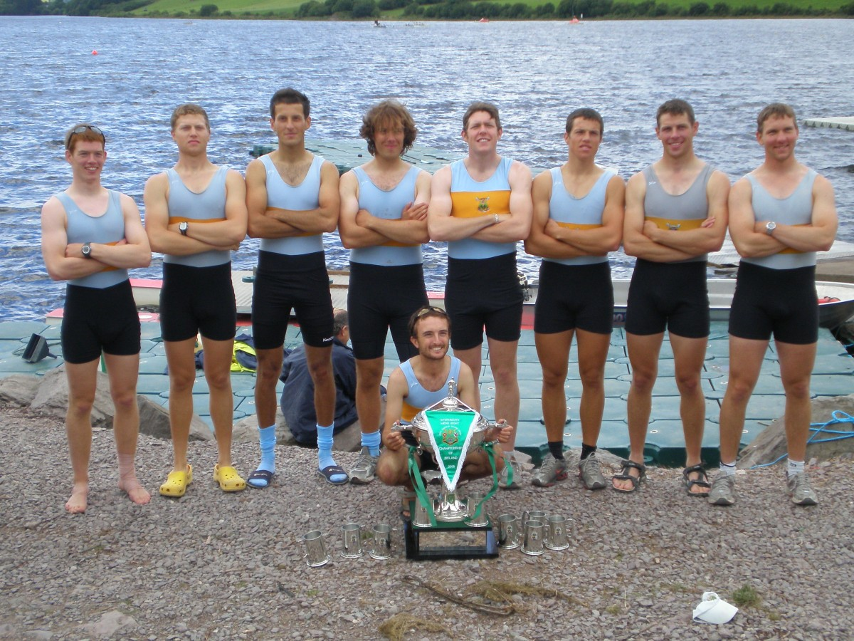 UCD Mens Inter 8+, National Champions 2008