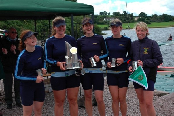 UCD Womens Inter 4+, National Champions 2008