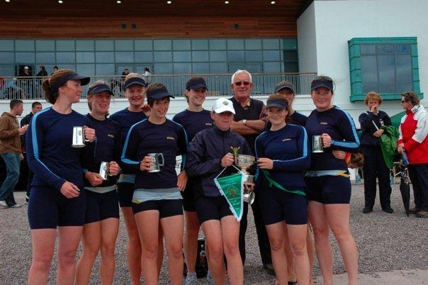 UCD Womens Inter 8+, National Champions 2008