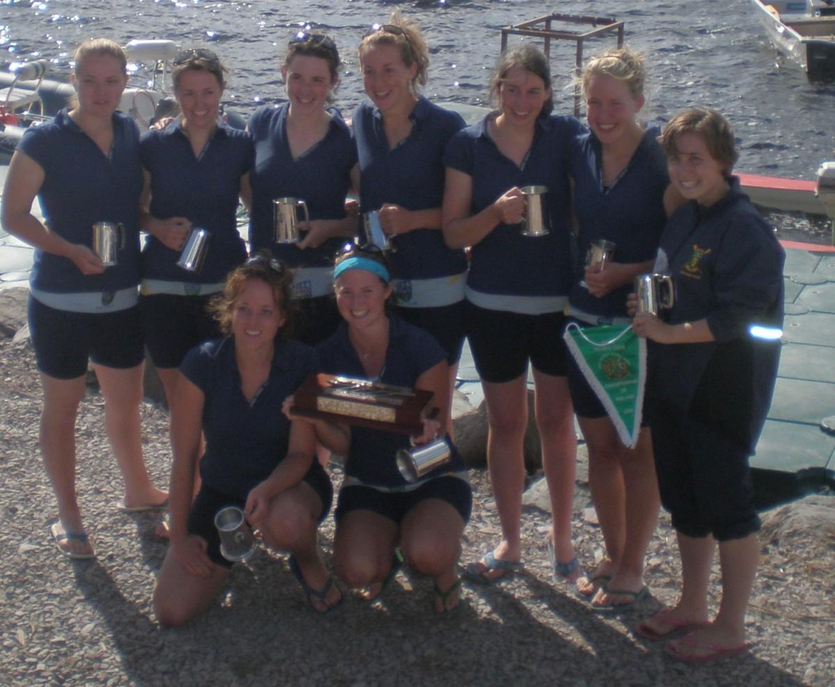 UCD Womens Novice 8+, National Champions 2008