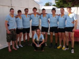 UCD Elite 8+ Winners, London Metropolitan Regatta 2009