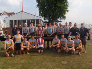 Henley 2009 - UCD coaches and Temple Cup crews