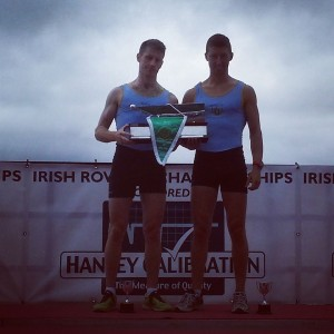 UCD BC Senior 2- Irish Champions 2014: Niall Kenny, Mark O'Donovan