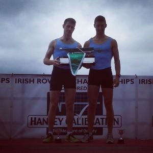 UCD BC Senior 2- Irish Champions 2014: Niall Kenny, Mark O'Donovan