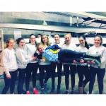 UCD Boat Club Sally Moorhead 8+ 2016