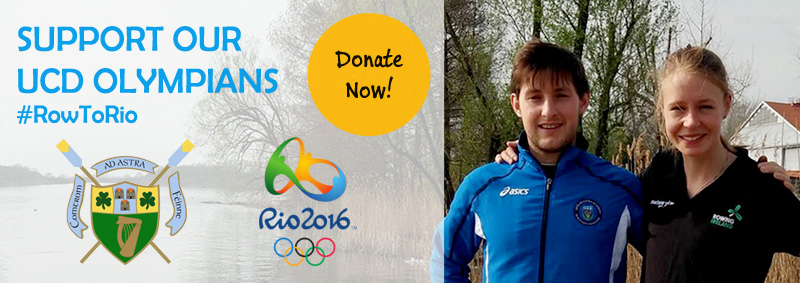 Support our UCD Olympians