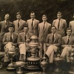 1961 Mens Senior 8+ winners of IARU Championship and Leander Cup at Cork, also Wylie Cup, Erne HOR, Dublin HOR (Record time 11:55), Gannon Cup, Boyne, Metropolitan and Limerick Regattas.  P.A. Spillane (Coach), T. J. Doorly (4), T. Sullivan (Capt & 7), T. P. Corrigan (Cox), J. B. Doyle (6), P. F. Crowley (Stk), D. McCann (2), J. J. O'Sullivan (3), D. J. Hamilton (5), A. T. Carty (Bow).  Competed in Thames Cup at Henley Royal Regatta. First Round: beat Trinity College Dublin by 1 1/2 lengths. Second Round: Lost to Kent School, USA by 1/2 length.