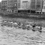 UCD 2nd Eight Gannon Cup 1983. Cox Dominic Fairtclough, stroke Guy MacGowan, 7 Pat Parle, 6 Aeden Kernan, 5 Pat Arrigan, 4 Liam Dolan, 3 Jim Healy, 2 Ivor Fennell, 1 Finton Ryan