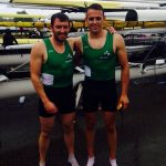Niall Farrell and Max Murphy at the Home International Regatta 2016