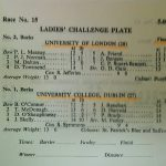1974 Ladies Challenge Plate Final Lineups