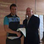 Andrew Griffin, Mens University Intermediate 1x Champion 2015