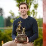 Paul O'Donovan with the 2017 'Dr. Tony O'Neill Sportsperson of the Year' award