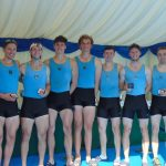 UCD's Club 8+ win Academic Tier 3 Crew at London Met 2018