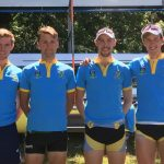 UCD's Senior 4- at Cork Regatta 2018